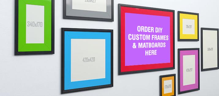 DIY Custom Frames & Matboards
